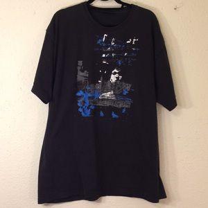 DKNY jeans short sleeve black T-shirt ( 186)